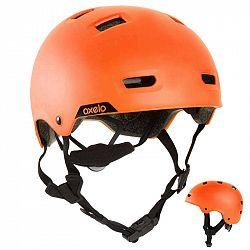 OXELO Prilba Mf 540 žiarivo Oranžová